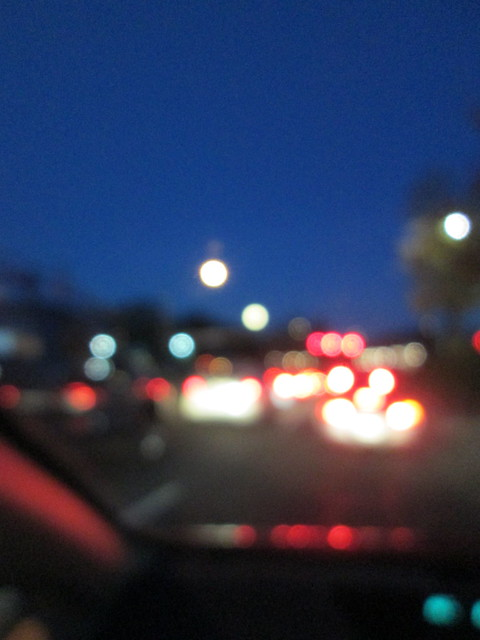 Blurry Moon