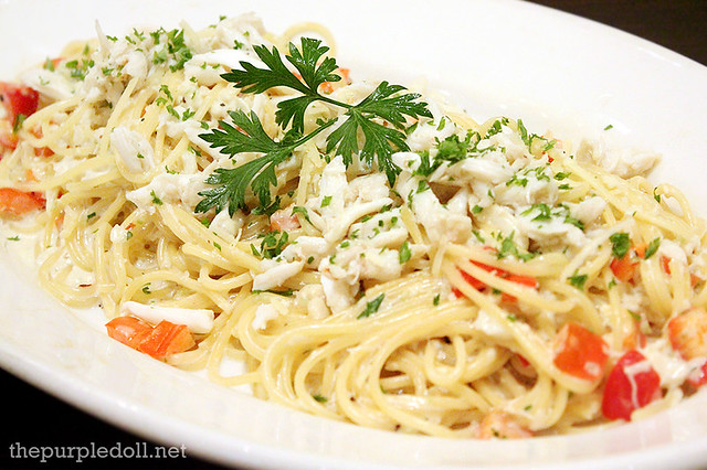 Creamy Crab Spaghetti P425