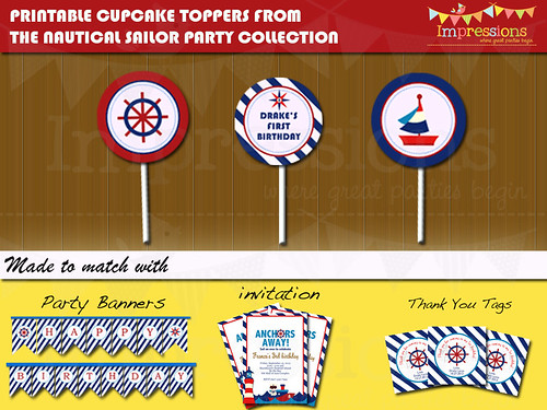 cupcake toppers ad