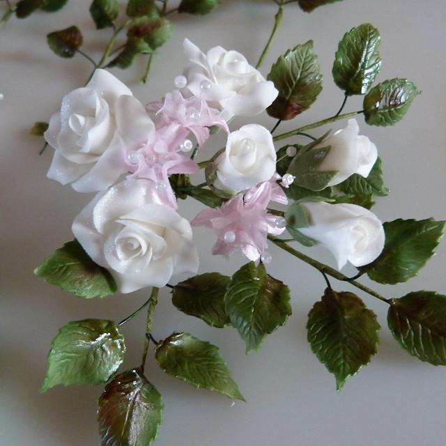 60th anniversary sugar flowers 012 flickr photo sharing. Black Bedroom Furniture Sets. Home Design Ideas