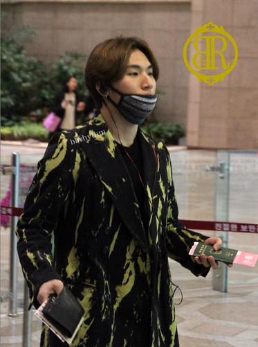 Big Bang - Gimpo Airport - 27feb2015 - Dae Sung - BB Rhythm - 01