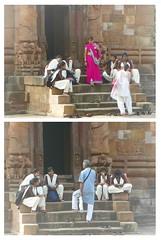 Bhubaneshwar 40 - Rajarani visitors