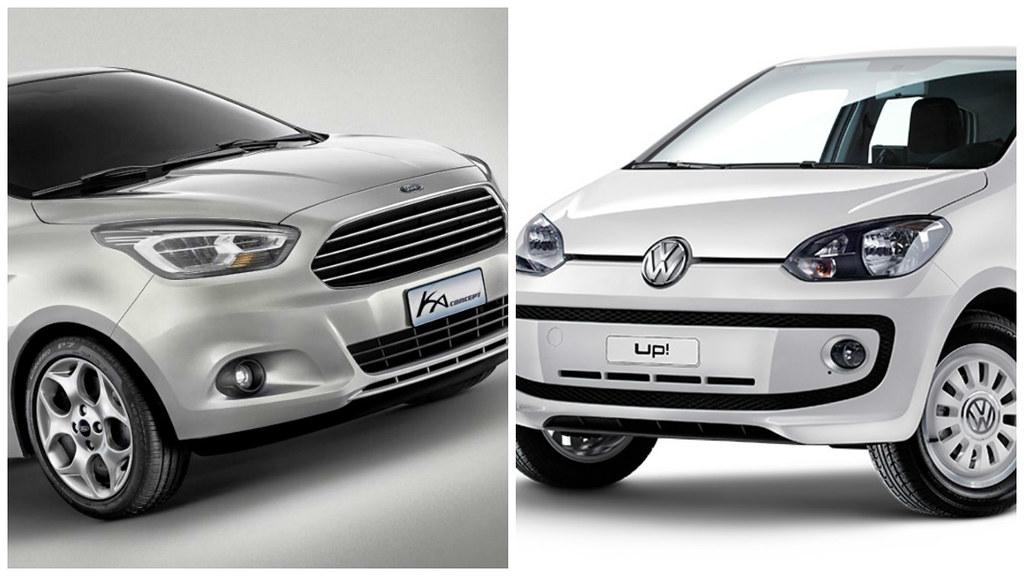 Autos Chicos El Ford Ka Se Acerca Al Vw Up