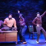 Sister Act Credit P. Switzer Photography 2016 - Aaron Fried (Joey), Napoleon M. Douglas (T.J.), Anthony Alfaro (Pablo)