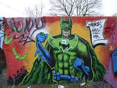 Markfield Park graffiti, Tottenham