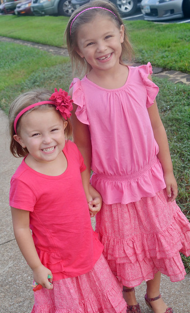 sass and aves in pink