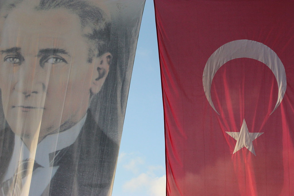 Ataturk & Turkish Flag
