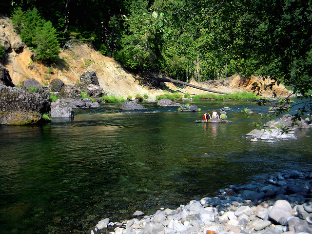 The Clackamas River