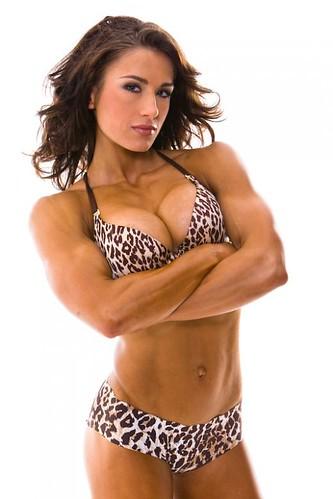 Pauline Nordin - Female Fitness Competitor