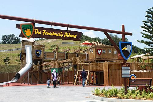 Legoland Malaysia Forestman Hideout
