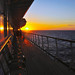 Atlantic Sunset aboard The Balmoral by Simon Downham