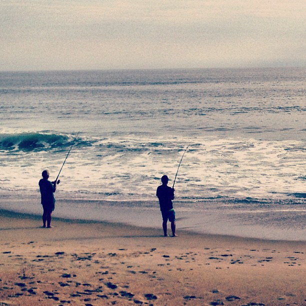 Awesome Obx Fishing Too Saw 2 Sea Mullet Hauled From The