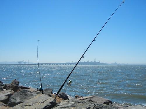 Fishing in Emeryville