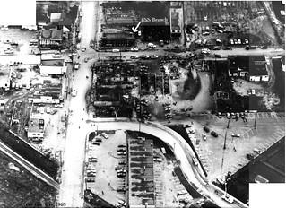 Malton Fire Aftermath 1969-10-26