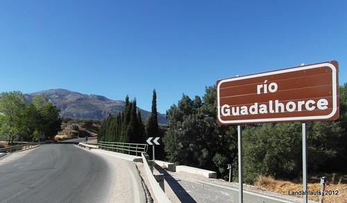 Puente del Río Guadalhorce en la A-7203 - Km. 8