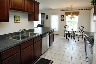 Kitchen with breakfast bar at 5214 Craigs Creek Drive