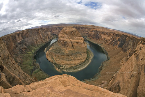 Horseshoe Bend in Fisheye