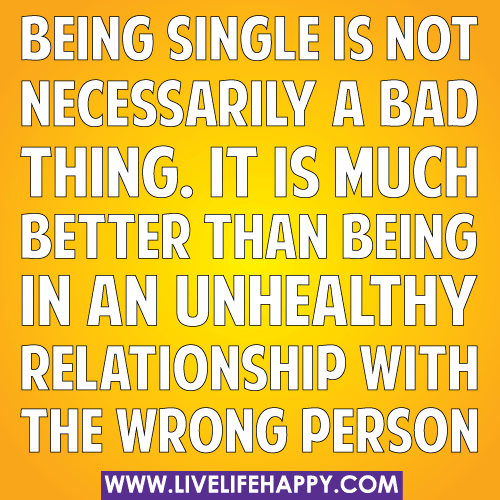 single is better than couple essay Being single is better than getting married a very good morning to the chairperson, honourable judges, my lovely oppositions, timekeepers and my fellow friends today.