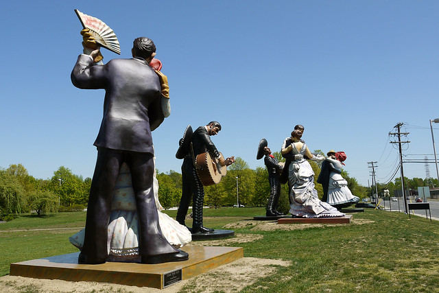 J seward johnson sculptures a turn of the century los for John seward johnson i