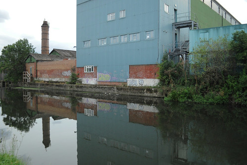 Industrial estate on the Brent