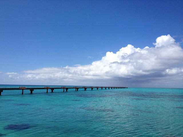 伊良部島と下地島の海