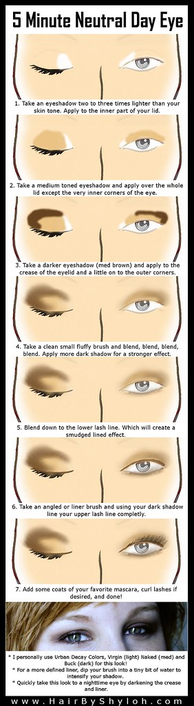 5 Minute Natural/Neutral Eye Makeup Step-by-Step – Shyloh