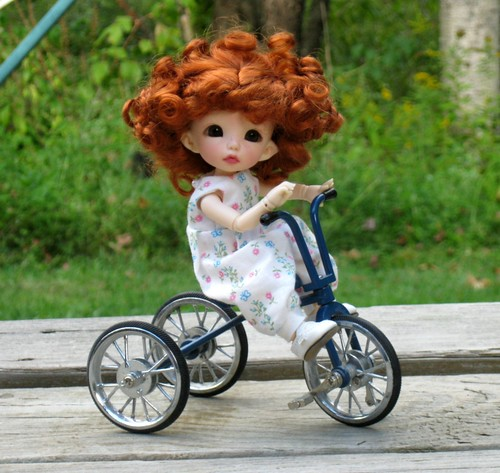 Tricycle Fun by elizabeth's*whimsies