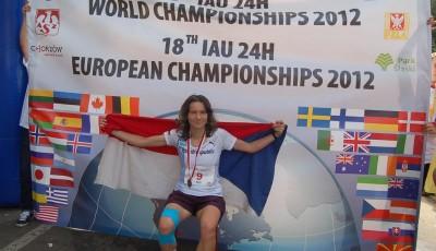Michaela Dimitriadu zaběhla 244,232 km, je mistryní světa!
