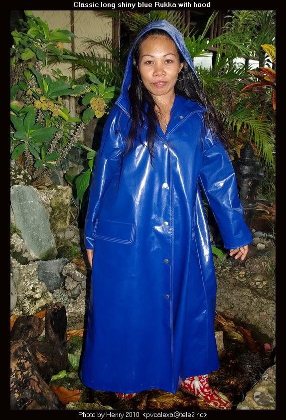 Shiny Blue Rukka Raincoat 01 A Photo On Flickriver