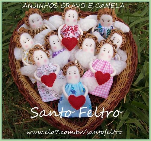 ANJINHOS CRAVO E CANELA by edilmarasantiago