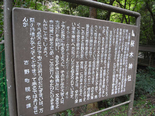 桜木神社と象の小川@吉野町-02