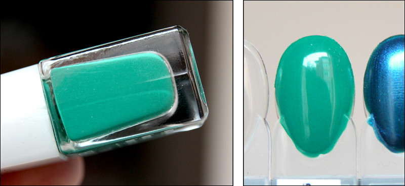 paradise green swatch
