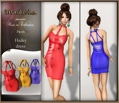 poster Hailey dress A
