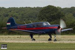 G-YAKG - 22202034023 - Private - Yakovlev Yak-18T - 120826 - Little Gransden - Steven Gray - IMG_2394