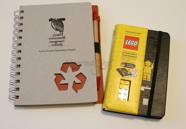 Eco Notebook & Lego Moleskine