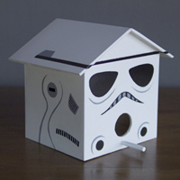 Storm Trooper Birdhouse
