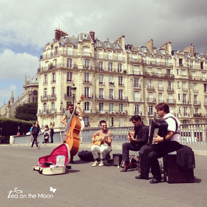 París instragram musics street