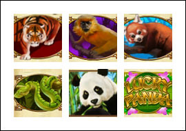 free Lucky Panda slot game symbols