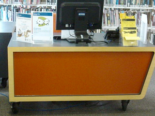 Children's service point on wheels,  Altona North Library