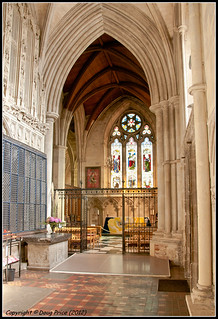 St Albans Cathedral - South-East passage