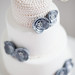 Grey and Cream Cake by Sugar Ruffles