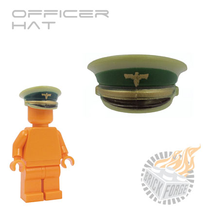 Officer Hat - Olive Green (Heer)