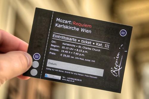 Mozart: Requiem Ticket