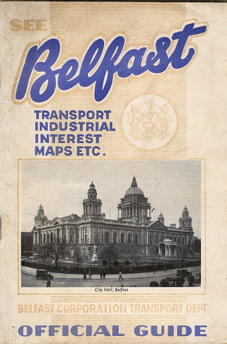 Belfast Corporation Transport Department - Official Guide, 1951/52 by mikeyashworth
