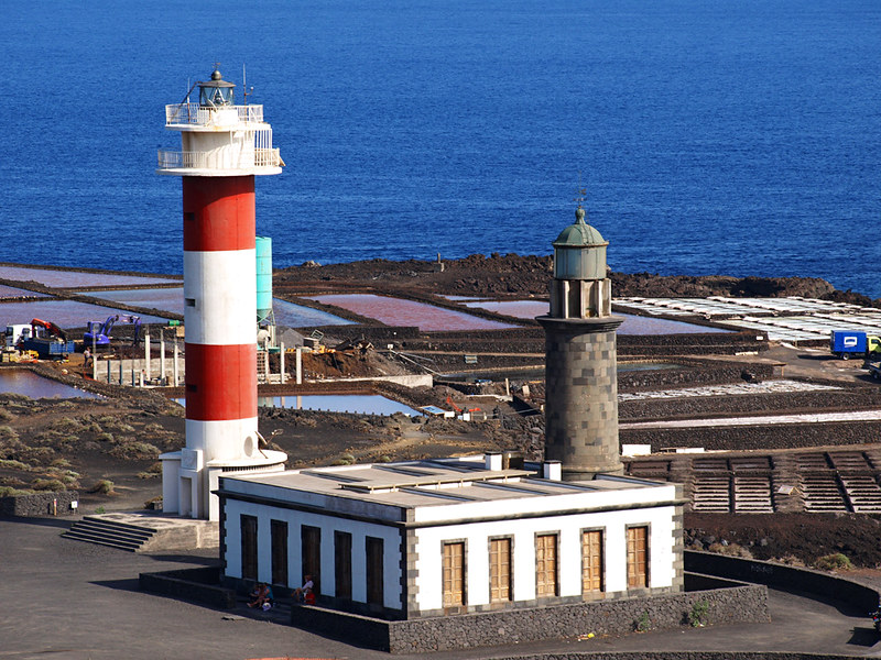 Lighthouses and salt Flats, Fuencaliente, La Palma