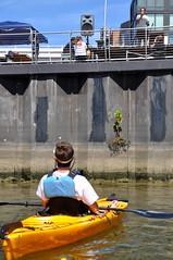 Waterkeepers paddling & preaching