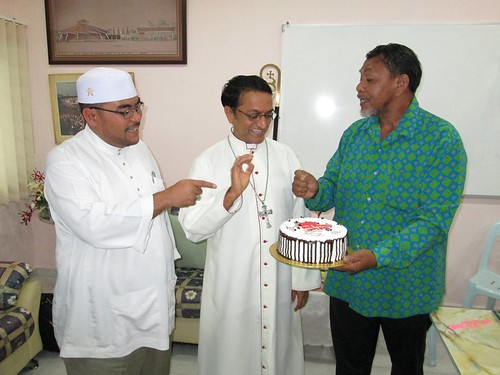 congratulatory cake from pas to new penang bishop sebastian francis
