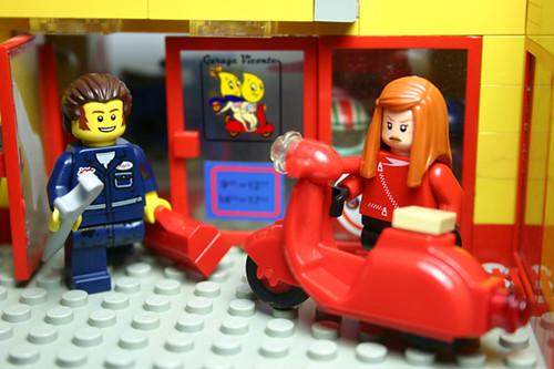 Scooter Shop LEGO by La Petite Brique