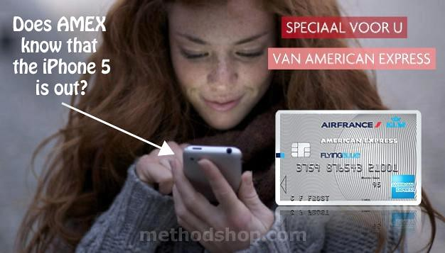 FAIL: American Express Accidentally Uses iPhone 1G in Ad Campaign [pic]