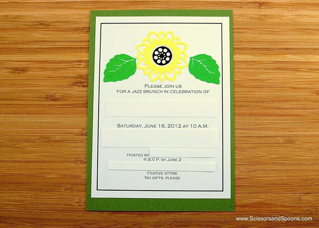 DIY Brunch Invitations